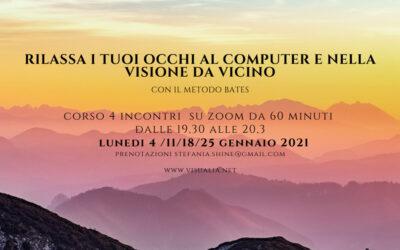 Rilassa i tuoi Occhi al Computer e nella Visione da Vicino